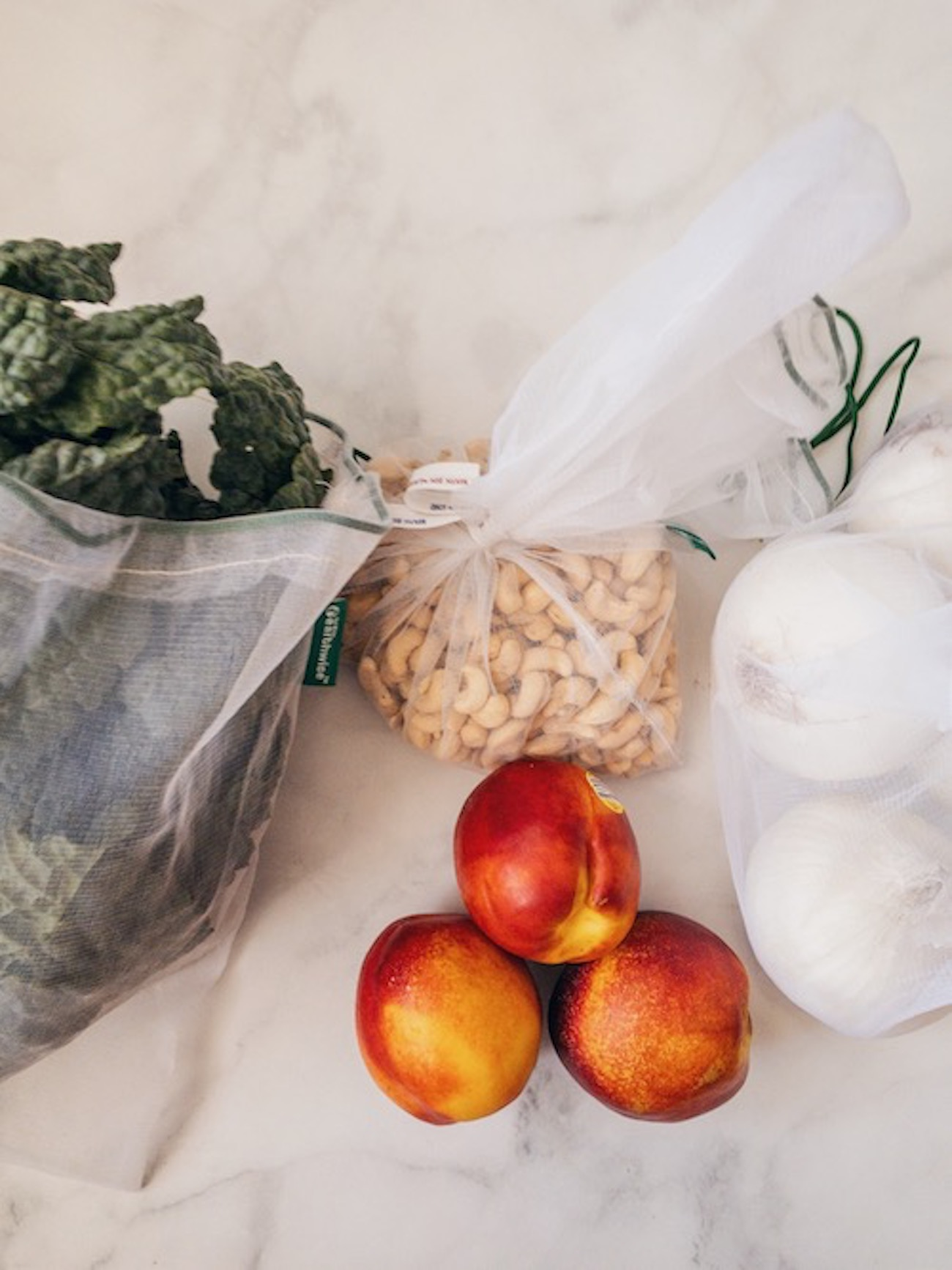 Produce in Eco-Friendly Bags