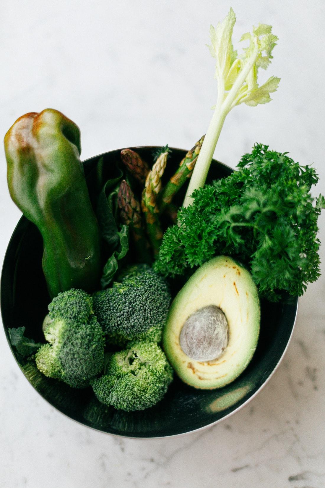 Bowl of Fresh Produce