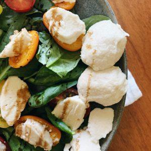 Vegan Mozzarella Salad