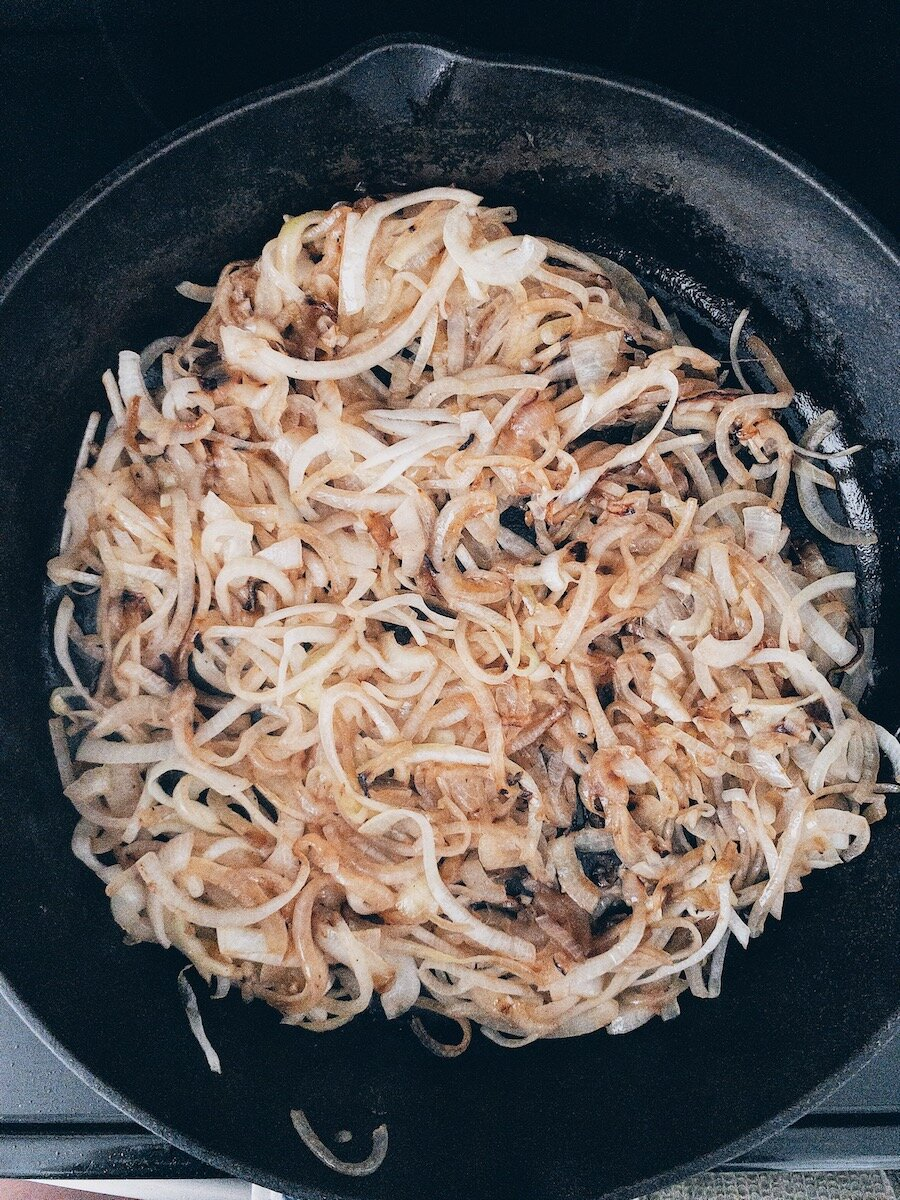 Lightly Caramelized Onions