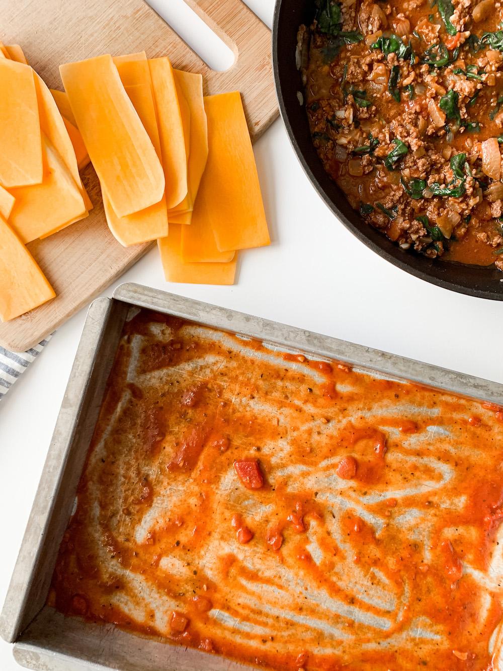 dairy-free lasagna ingredients