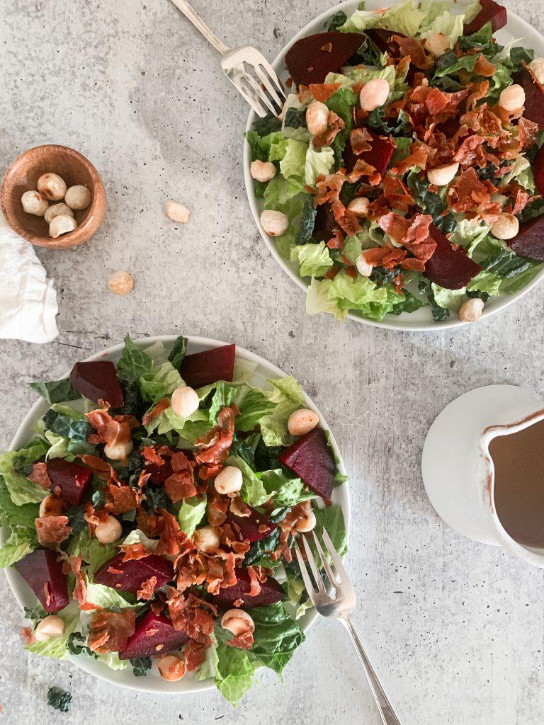 roasted beet salads