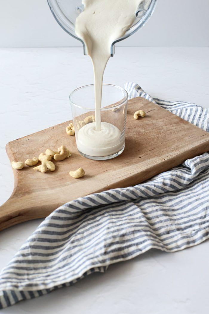 2-Ingredient Homemade Cashew Cream